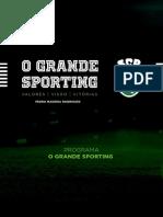 Programa o Grande Sporting