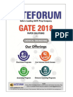Gateforum CH GATE-2018 Solutions
