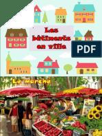 Bâtiments en Ville Dictionnaire Visuel ( Vocabulaire)