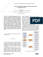 Design and Implementation of Intelligent Building Engineering Information Management System
