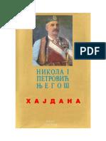 Kralj Nikola Petrovic Njegos - Hajdana.pdf