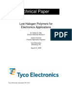 Low Halogen Polymers for Electronics Applications