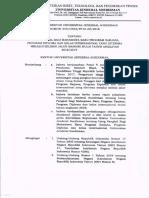 Sk Rektor Tentang Uang Pangkal 2018