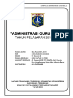 Cover Administrasi Guru Kelas