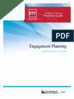 PG Engagement Planning Establishing Objectives and Scope
