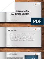 An Overview of Led Screen India