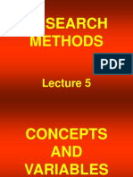 Research Methods - STA630 Power Point Slides Lecture 05