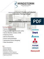 Industrial Automation Trainings Course outline