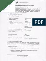 Informes de Transparencia Fundación Huésped 2010 y 2011