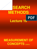 Research Methods - STA630 Power Point Slides  lecture 16.ppt