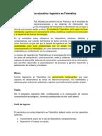 Programa Educativo Telematica