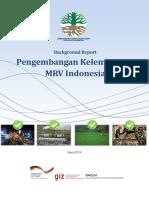 Pengembangan Kelembagaan MRV di Indonesia