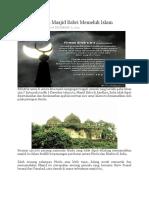 Kisah Peruntuh Masjid Babri Memeluk Islam