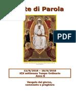 Sete di Parola - XIX Settimana T.O., anno B.doc