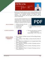 Contoh CV #1 - Ditha