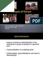 Culture Kenya