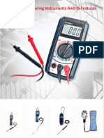 4 Types of Measuring Instruments and Its Features