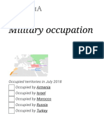 Military Occupation - Wikipedia