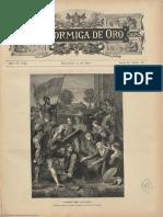 La Hormiga de Oro. 13-4-1889