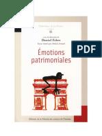 FABRE, Daniel; ARNAUD, Annick (orgs). Émotions patrimoniales.