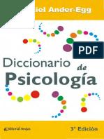 Diccionario de psicologia (3a. - Ezequiel Ander-Egg.pdf
