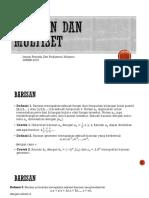 Barisan Dan Multiset