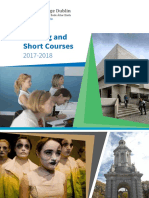 TRINITY COLLEGE - Evening Short Courses Brochure 2017 Final