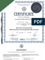 Nautical College - DP Maintenanace & Engineering Course