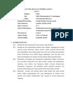 RPP KD. 3.3 Garis gambar teknik