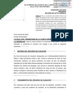 CASACIÓN  N° 1319-2016 AREQUIPA
