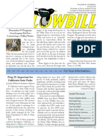 Fresno Audubon's Yellowbill - October 2010 edition