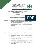 1. (-l) Sk Evaluasi Dan Perbaikan Perilaku Layanan Klinis