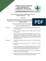 1. (-l) Sk Penanggungjawab Pelaksanaan Evaluasi