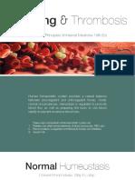 Bleeding and Thrombosis