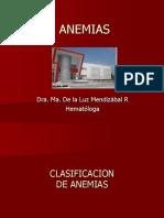 2 Clasificacion de Anemias