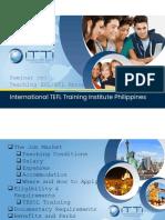ITTI Teach Abroad Seminar