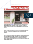 ICICI Bank Posts First