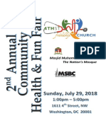 2018 07 29 Health Fair Program Guide