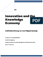 Innovation and the Knowledge Economy