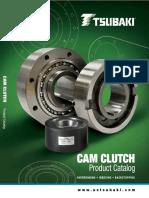 Tsubaki Cam Clutch Catalogue