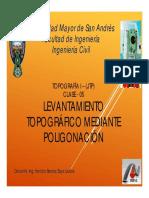 Clase-12 Levantamiento Topográficos Mediante Poligonación