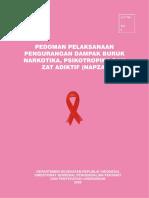 252444081 Pedoman Pelaksanaan Pengurangan Dampak Buruk Narkotika Psikotropika Dan Zat Adiktif NAPZA PDF