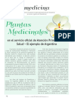 Plantas argentinas y fitoterapia
