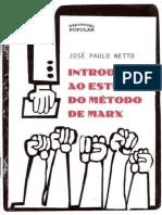 NETTO, José Paulo. Introdução Ao Estudo Do Método de Marx