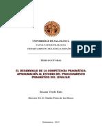 Verde Ruiz, Susana - El desarrollo de la competencia pragmatica.pdf