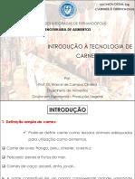 Aula 1 - Introdução à Tecnologia de Carnes e Derivados - Engal