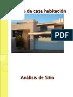 ESTUDIO DE CASA HABITACION REGLAMENTO DE CONSTRUCCION