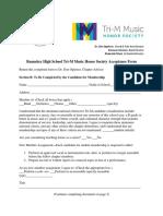 tri-m student acceptance form