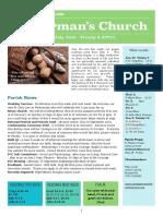 st germans newsletter - 29 july 2018