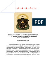 Discurso por el Aniversario Patrio - V .·.H .·.Luis Lamas Puccio, 4°